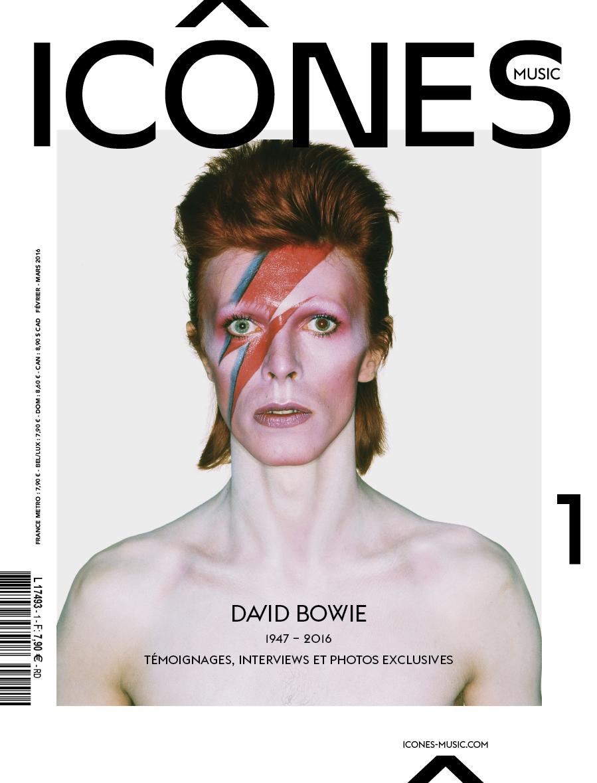 Icône music / David Bowie